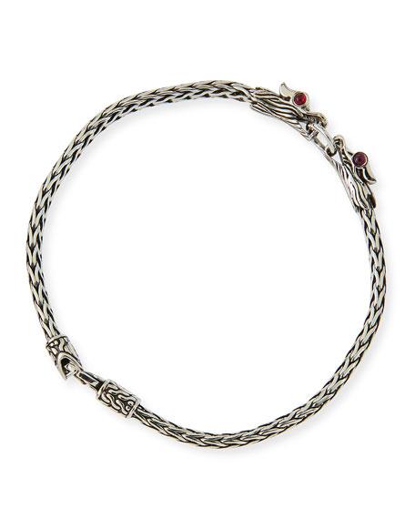 John HardyNaga Silver Dragon-Head Bracelet