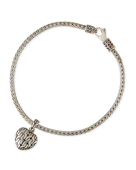 Classic Chain Bracelet with Heart Charm