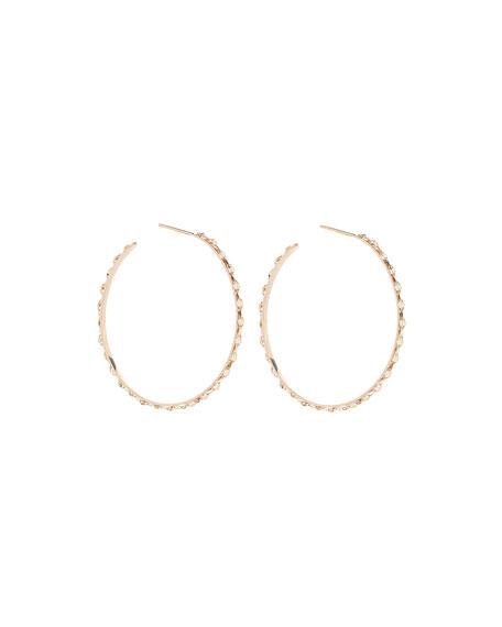 14k Glam Sunrise Small Hoop Earrings