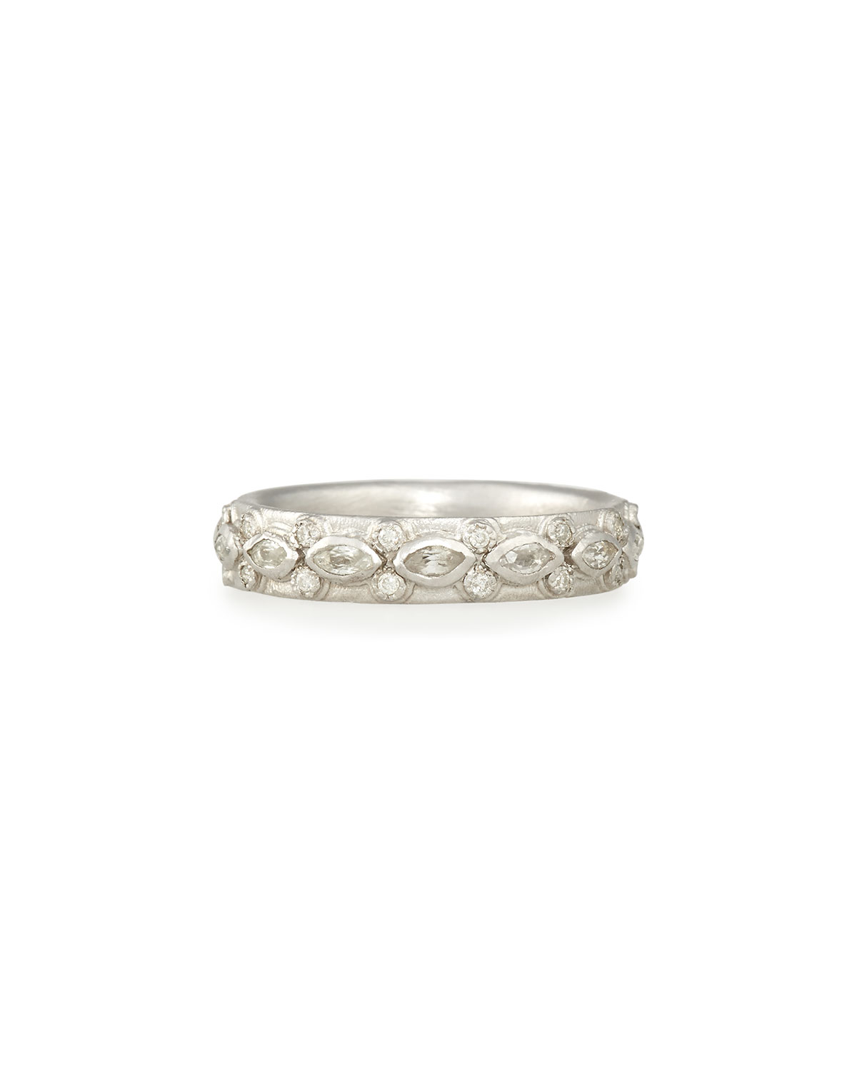 Armenta New World Lacy Eternity Stacking Ring soK1A0y