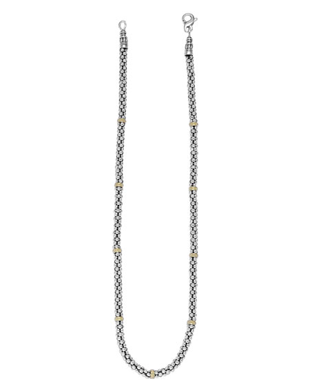 Image 2 of 3: Lagos Caviar-Rope Necklace