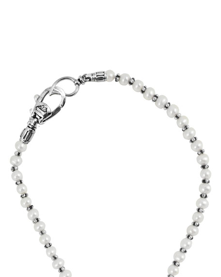 """Lagos Pearl Necklace, 36""""L"""