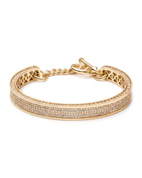 Small Zenith Pave Crystal Cuff Bracelet