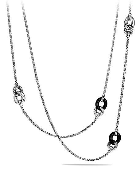 David Yurman Necklace with Black Onyx