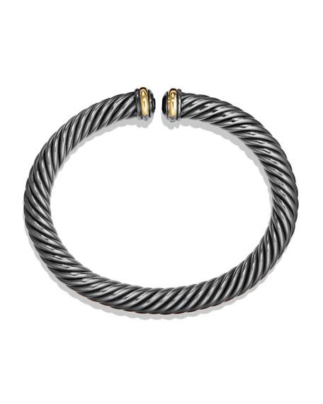 7mm Cable Spira Sterling Silver Bracelet