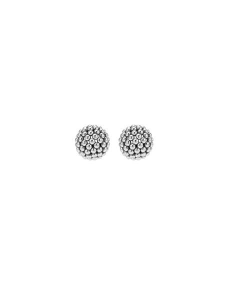 Bold Caviar Small Stud Earrings