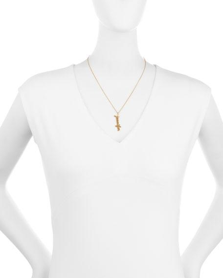 Jennifer Zeuner Serafina Vertical Gold Vermeil Necklace 9nt1B699c