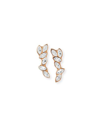 Floating Marquis Crystal Earrings
