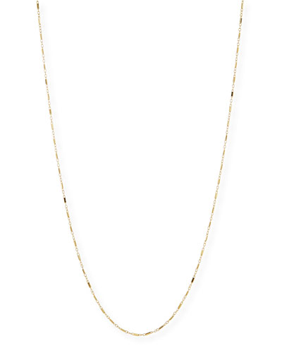 Gold Vermeil Chain Necklace, 36