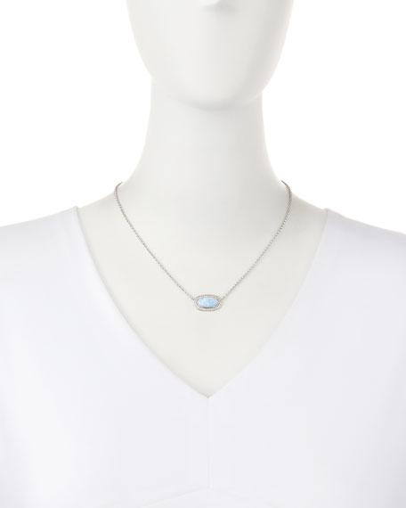 Eloise East-West Opal Pendant Necklace