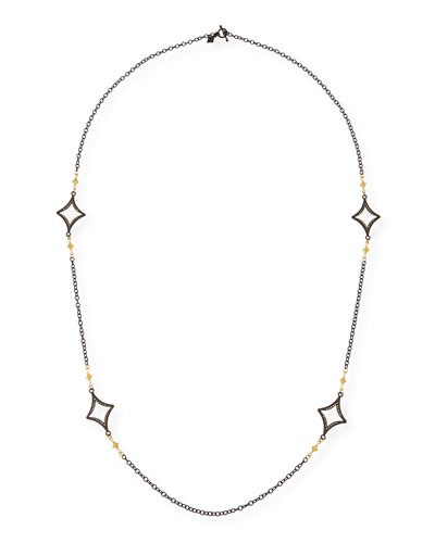 Long Open Cravelli Station Necklace, 36""