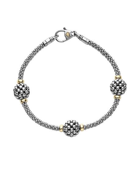 LAGOS 10mm Caviar Ball Station Bracelet