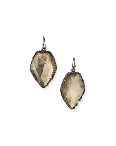 Corley Mirror Rock Earrings