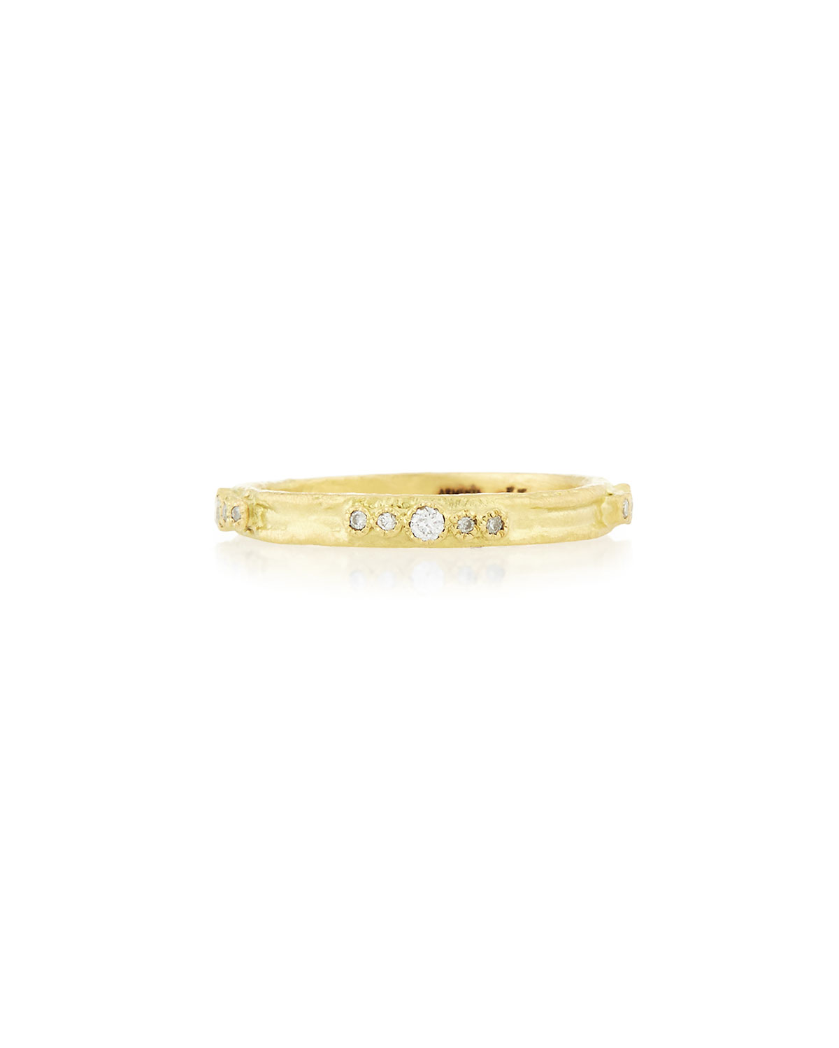 Armenta Sueno 18K Gold Diamond Stacking Ring, Size 5-8