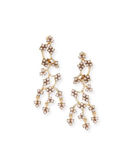 Lulu Frost Jackie Web Dangling Earrings