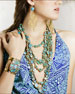 Image 2 of 3: Turquoise Multi-Strand Necklace