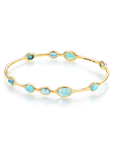 Ippolita 18k Rock Candy® 9-Station Bangle in Waterfall