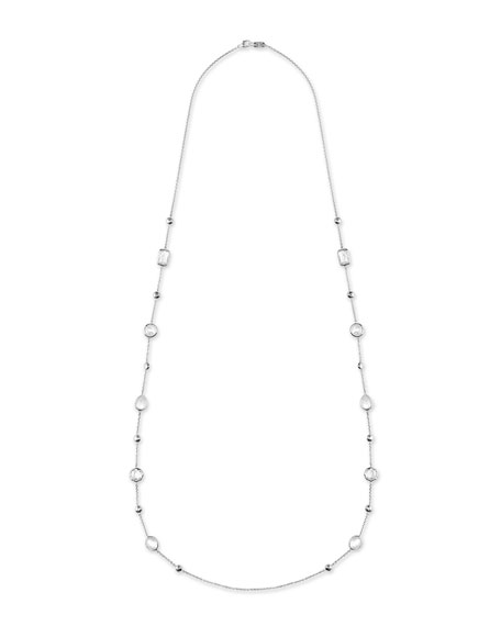 "Ippolita 925 Rock Candy® Medium-Station Necklace in Flirt, 42""L"
