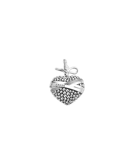 Embrace Caviar Heart Charm Pendant