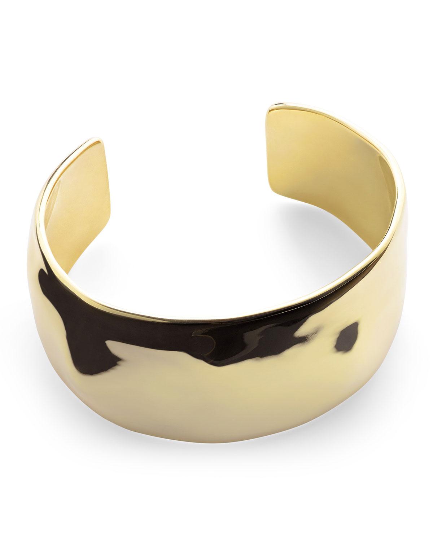 Ippolita 18K Gold Senso Medium Organic Cuff Bracelet KrT5JnVEPL