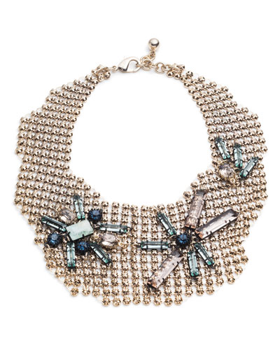 Cité Chain Link Bib Necklace