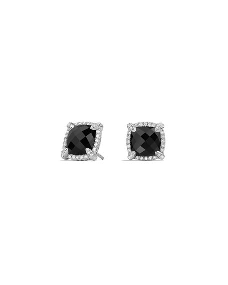 David Yurman 9mm Châtelaine® Stud Earrings with Diamonds