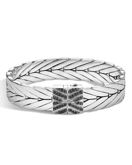 John Hardy Modern Chain Silver Lava 13mm Bracelet