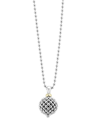 Caviar Forever Ball Pendant Necklace, 34
