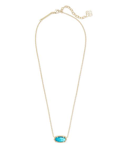 Elisa Abalone Shell Necklace