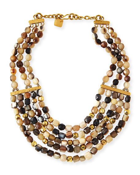 Ashley Pittman Kubwa Multi-Strand Necklace, 21