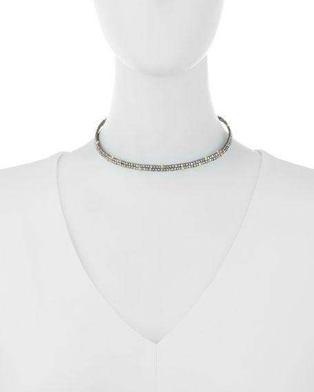 Crystal Spike Choker Necklace