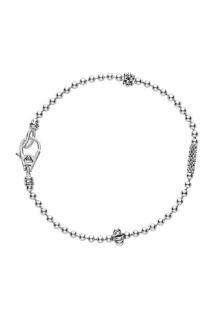 LAGOS 2.5mm Icon Sterling Silver Ball Chain Bracelet