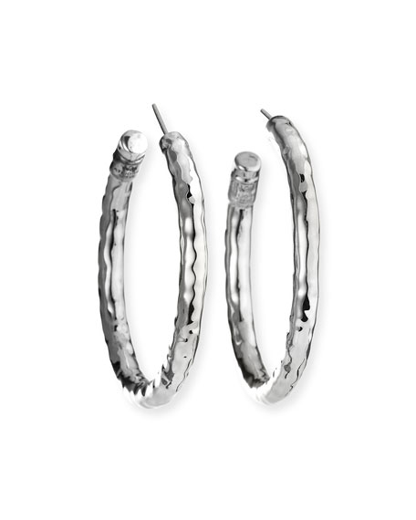 Ippolita 925 Glamazon #3 Small Hoop Earrings, Post