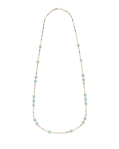 18K Senso&#174 Necklace in Turquoise  40