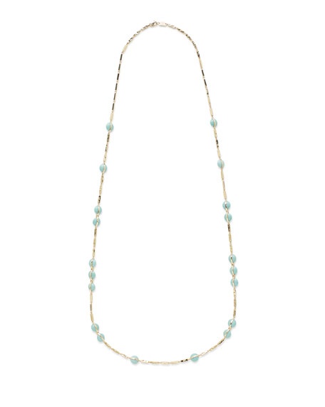 18K Senso® Necklace in Turquoise, 40""