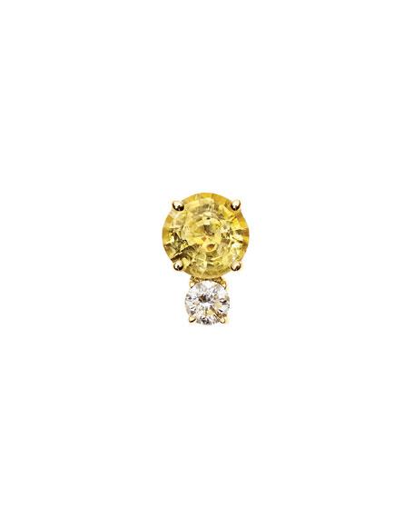 Jemma Wynne Prive Opal & Diamond Single Stud Earring