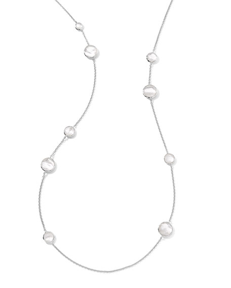 Ippolita Sterling Silver Wonderland Lollipop Station Necklace in