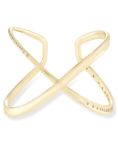 Stella Crisscross Cuff Bracelet