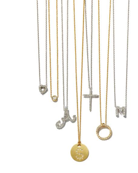 Cross Necklace with Diamonds