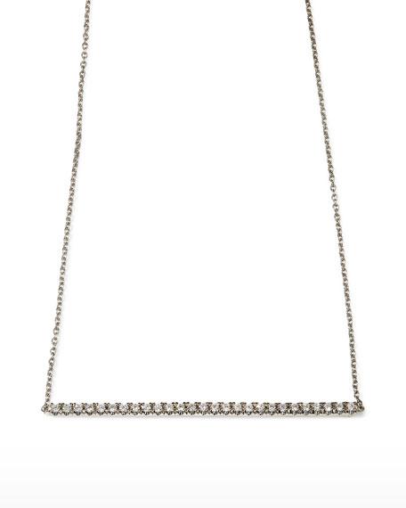 Roberto Coin 18k Gold Diamond Bar Necklace