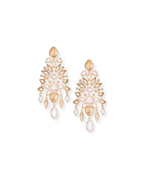 Aryssa Mosaic Chandelier Post Earrings