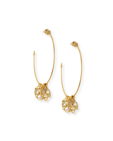 Kendra Scott Alyssa Charm Hoop Earrings