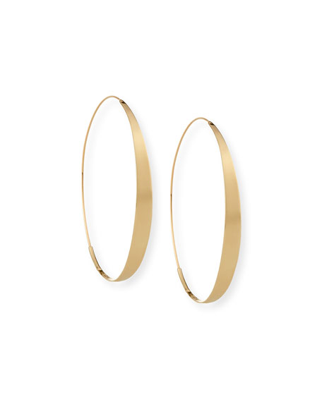 Lana Jewelry Bond XXL Gloss 14K Hoop Earrings MBMGTg