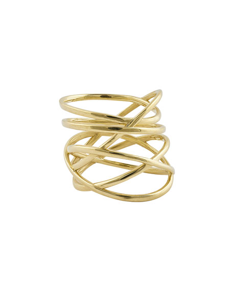 Bond Multi-Row 14K Gold Ring
