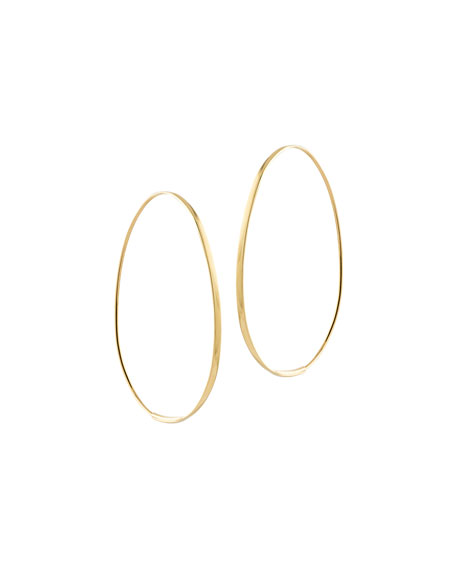 Bond Small Tear Hoop Earrings