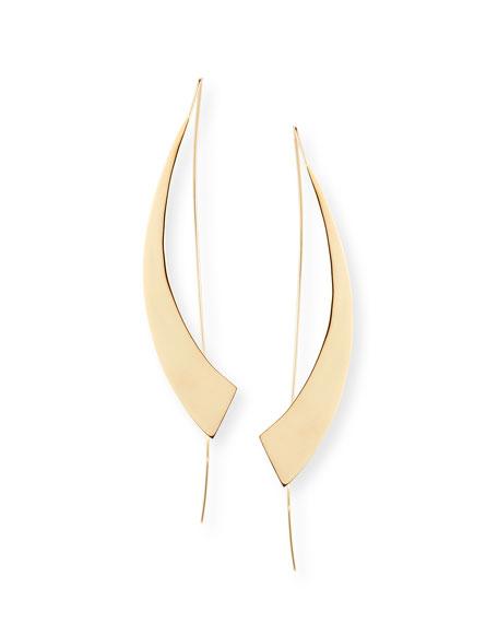 LANA Large Gloss Hooked on Hoops Earrings