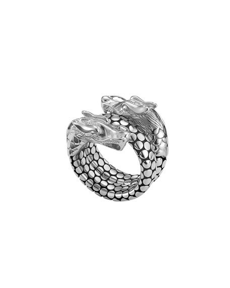 Naga Head Coil Ring