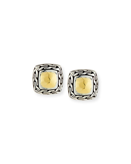 John Hardy Classic Chain Heritage Stud Earrings