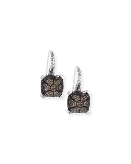 Stephen Dweck Carved Mother-of-Pearl Drop Earrings