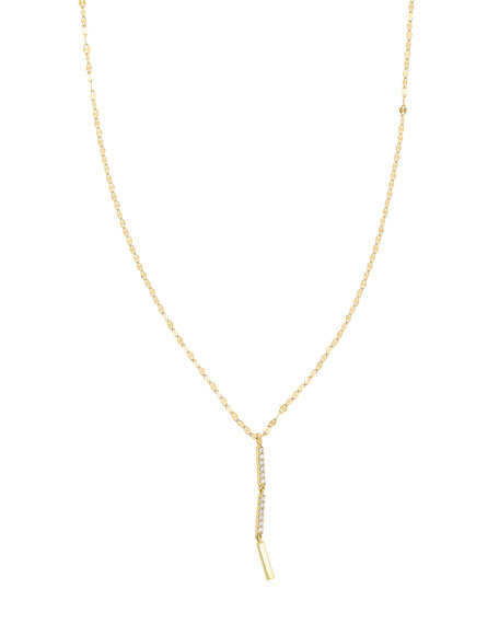 LANA Flawless Vol. 6 14K Drop Necklace with Diamonds